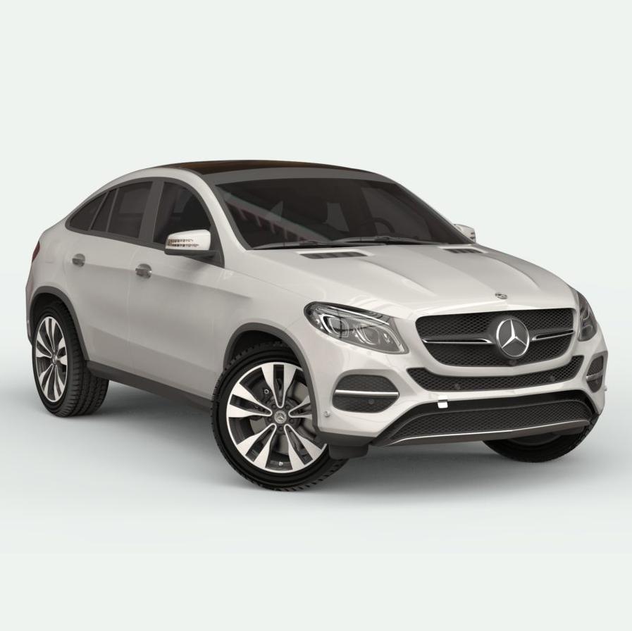 Mercedes-Benz GLE Class 3d