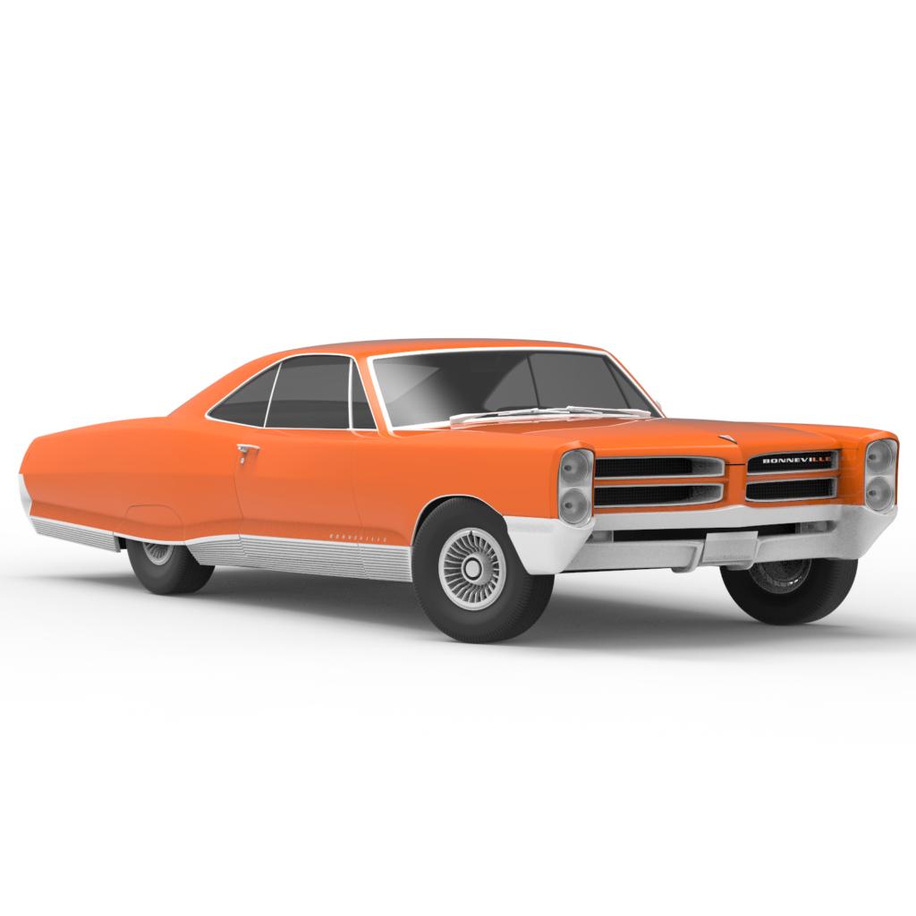 Pontiac 1965 Bonneville скачать бесплатно