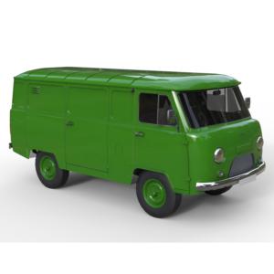 УАЗ-452 3d model