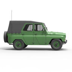 УАЗ 3151 3d скачать rendercar