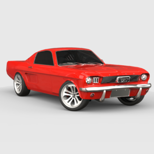 Ford Mustang 1966 3d