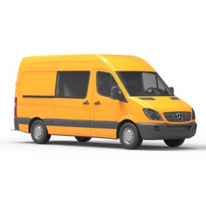 Mercedes Benz Sprinter 3Д модель rendercar