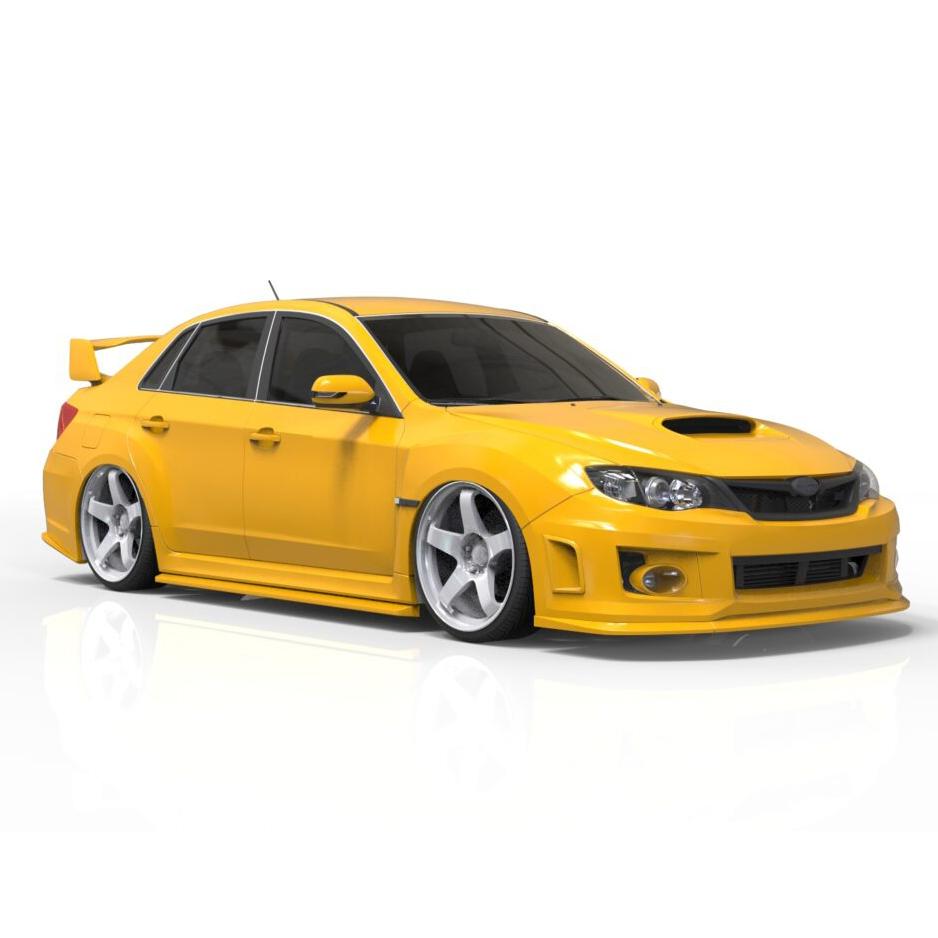 Subaru Impreza rendercar