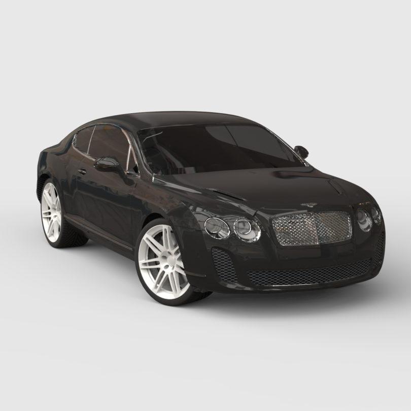 Bentley Continental 3D model