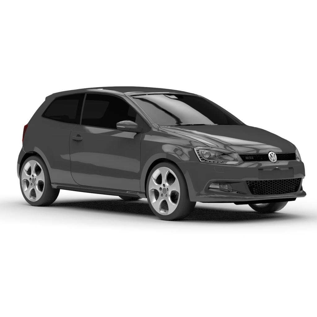 Volkswagen Polo 3D Rendercar