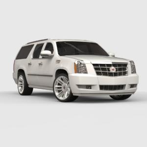 Cadillac Escalade rendercar