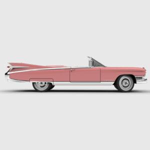 Rendercar Cadillac Eldorado 3d