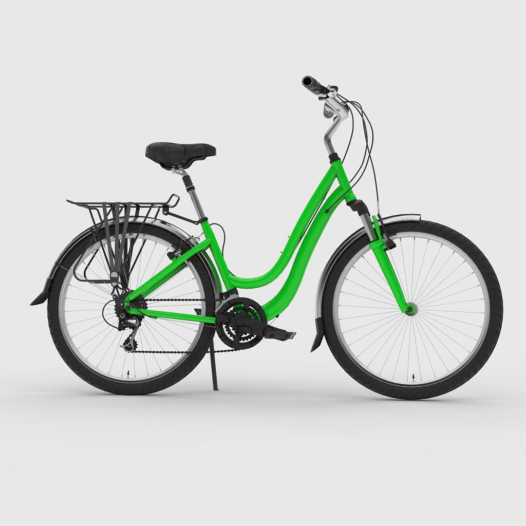 Велосипед 3д модель Bike