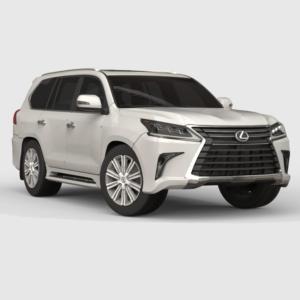 Lexus LX 570 3D model Rendercar