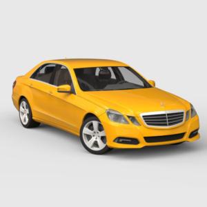 Mercedes-Benz E 500 w212 rendercar