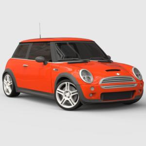 Mini Cooper S Mk1 rendercar