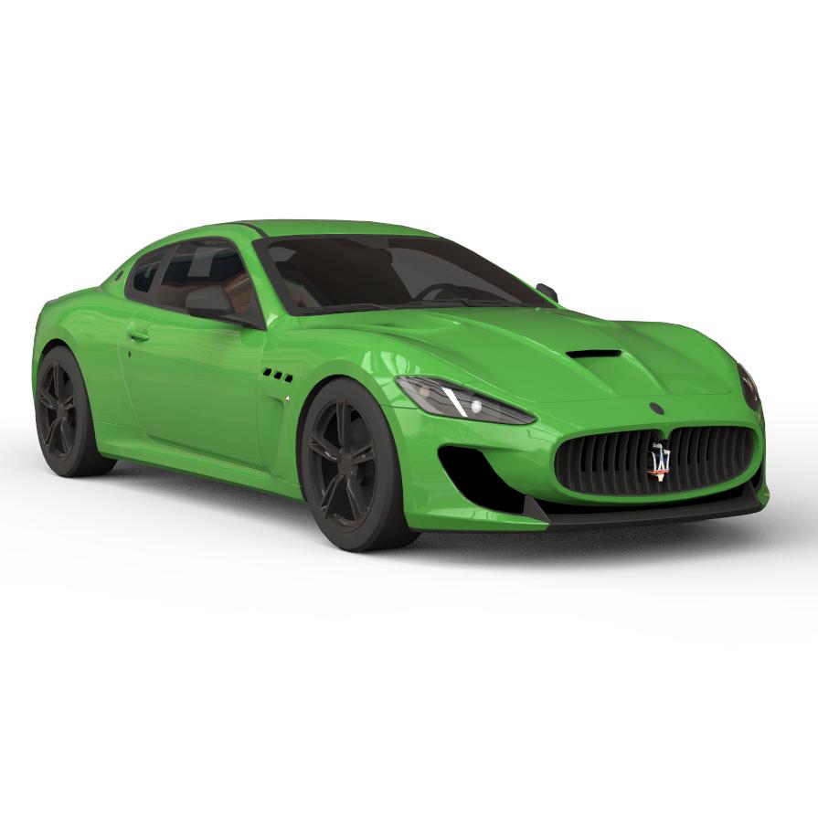 Rendercar Maserati Granturismo 3D
