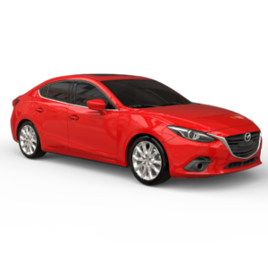 Mazda 3 3Д модель rendercar