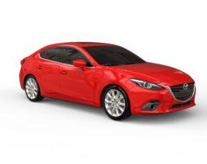 Mazda 3 3D модель