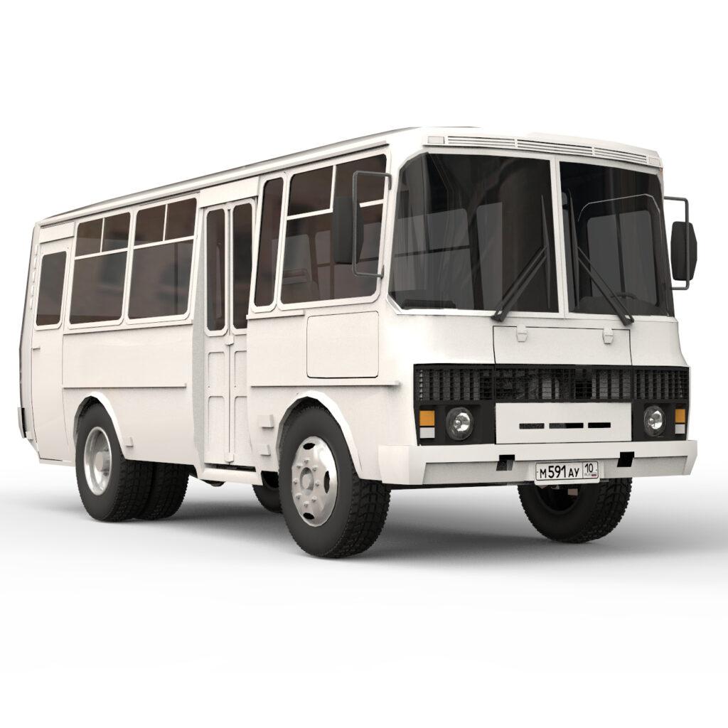 ПАЗ 3205 3d модель