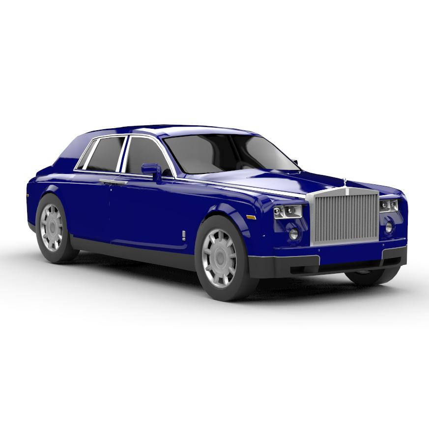 RendercarRolls Royce Phantom 3D
