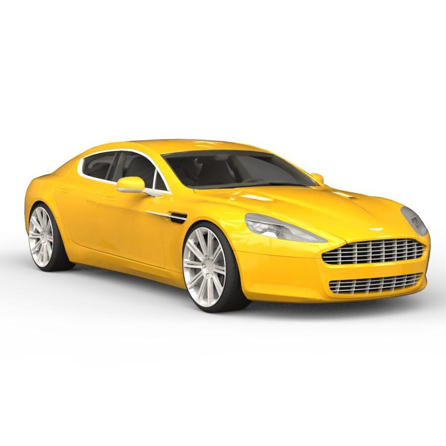 Aston Martin Rapide rendercar