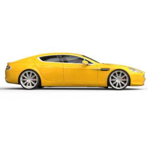 Rendercar Aston Martin Rapide