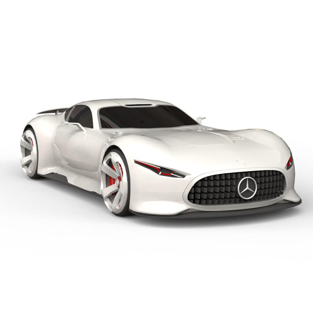 Mercedes Benz Gran Turismo Concept rendercar