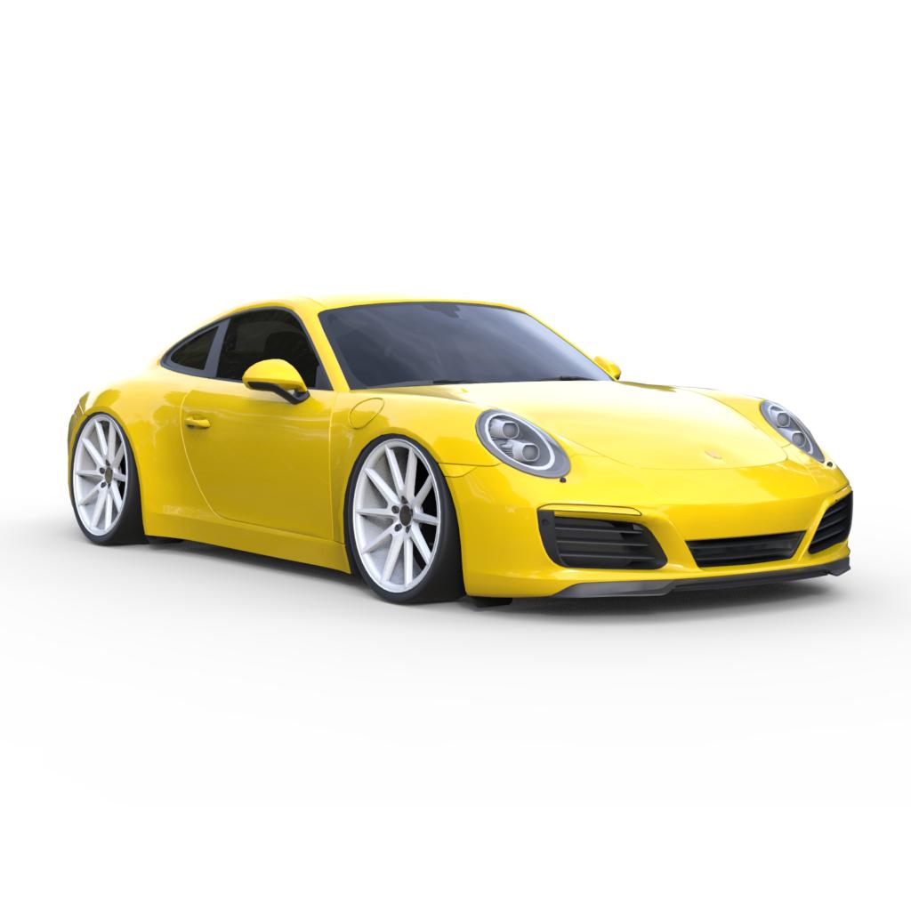 Porsche 911 Vossen Rendercar