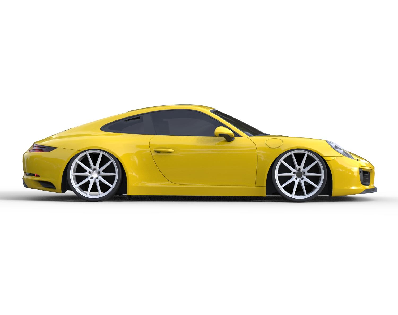 Porsche 911 Vossen