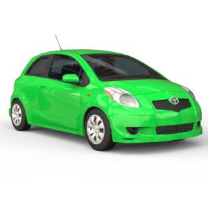 Toyota Yaris 3d rendercar