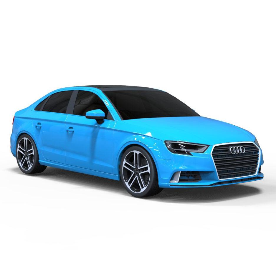 Audi A3 Sedan 3D Rendercar