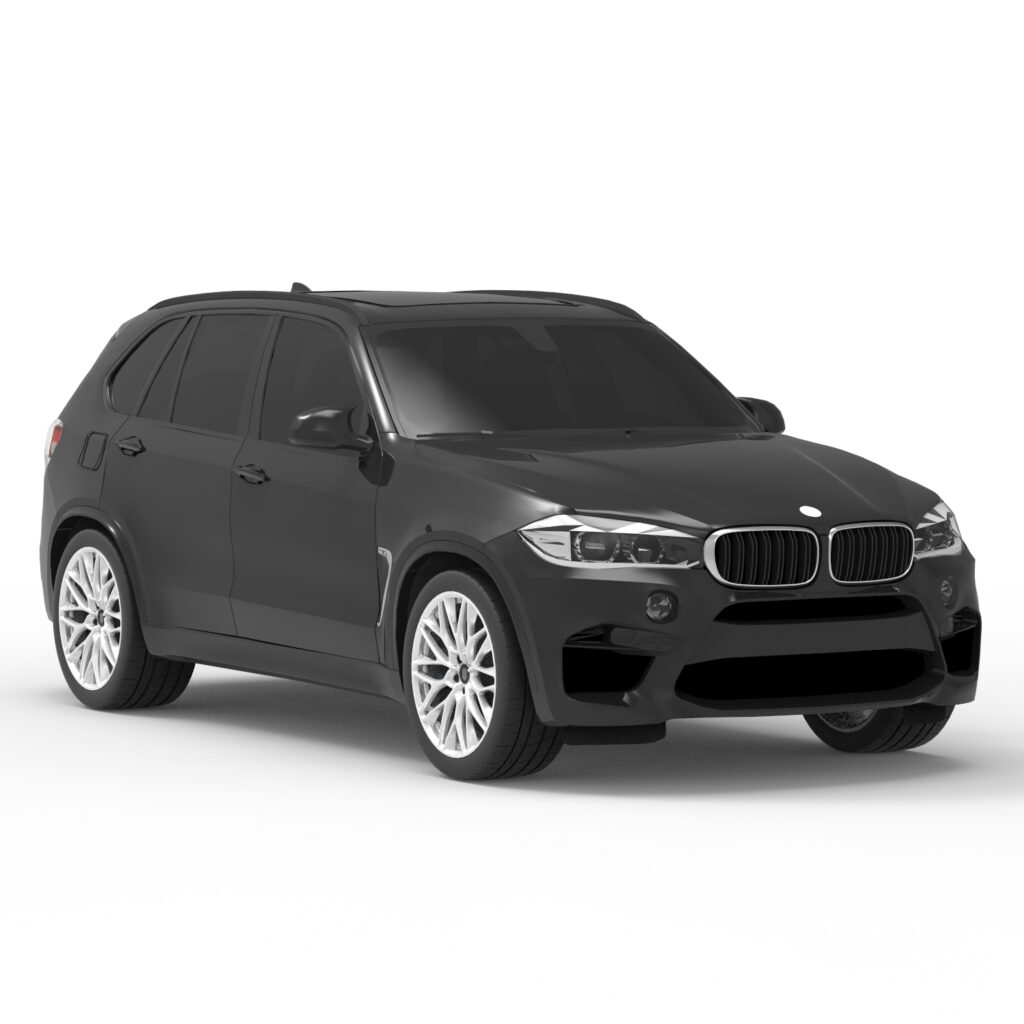 BMW X5 3D rendercar