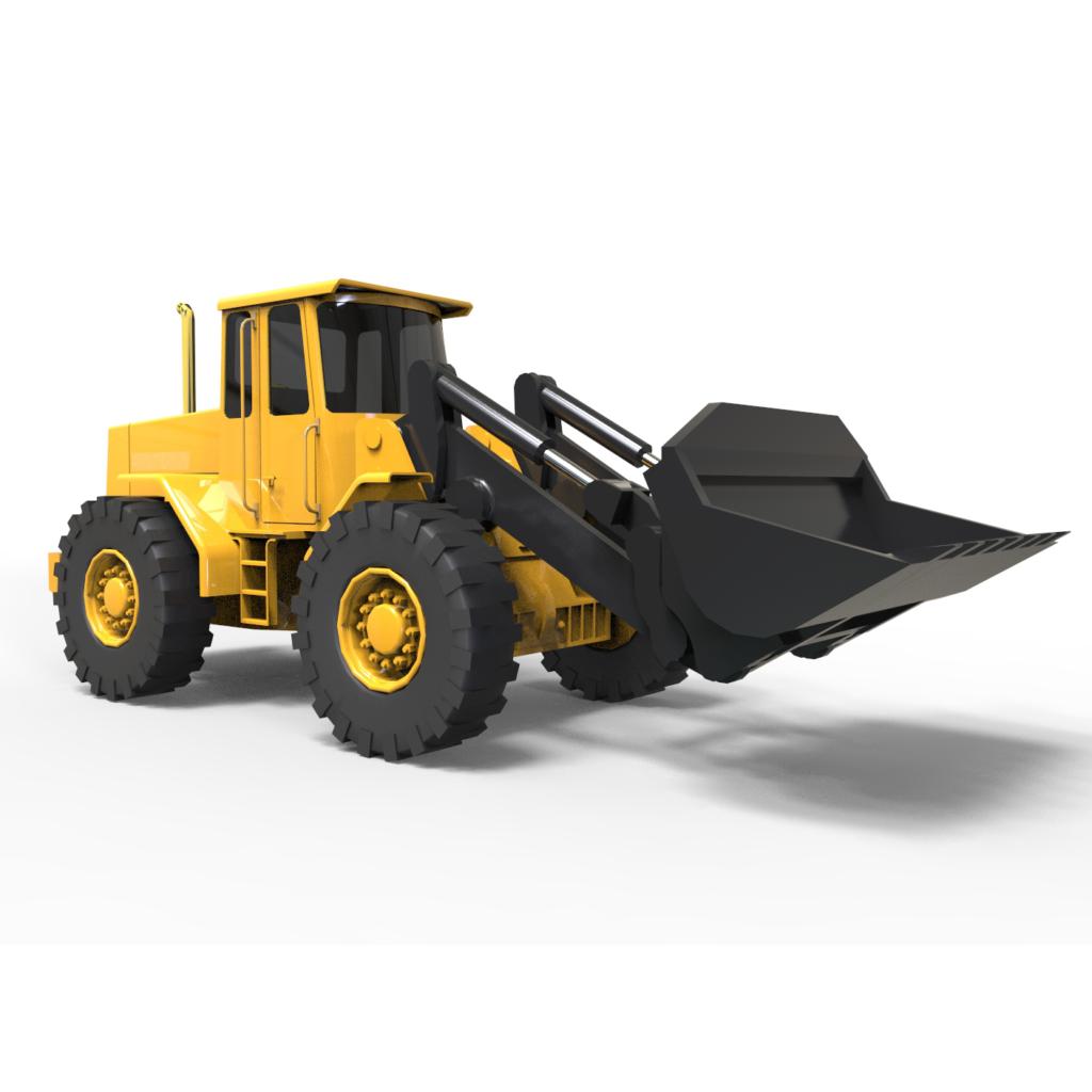 Volvo BM Loader 3D rendercar
