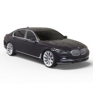 BMW 7-й серии 3д