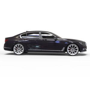BMW 7 rendercar