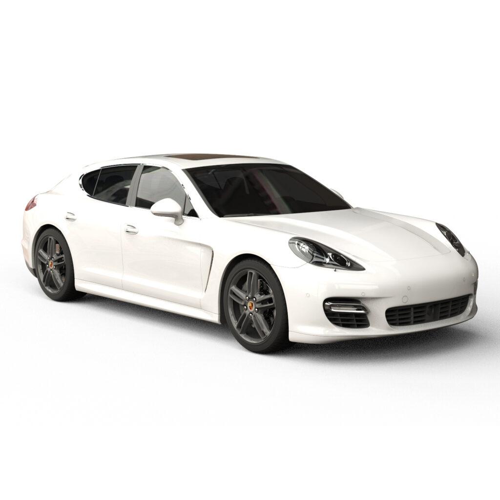 Rendercar Porsche Panamera 3d