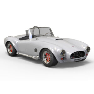SHELBY COBRA 1963 3D rendercar