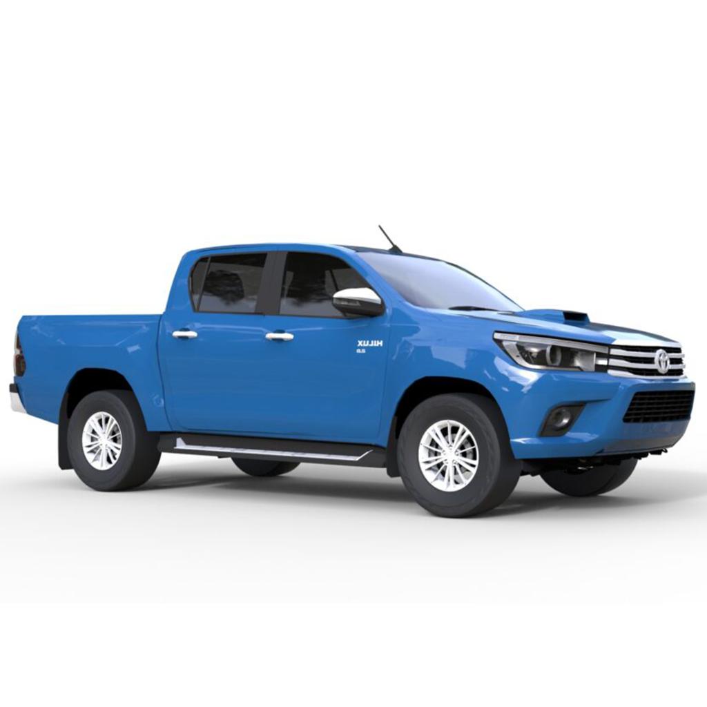 Rendercar Toyota Hilux 2016