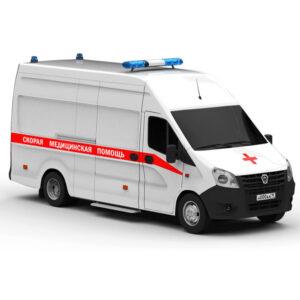 Газель Next a31r32 Скорая помощь Rendercar