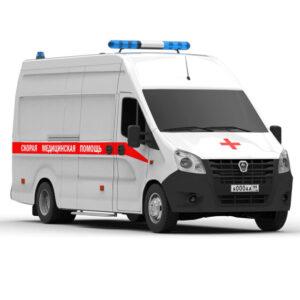 Газель Next a31r32 Скорая помощь Rendercar 3d