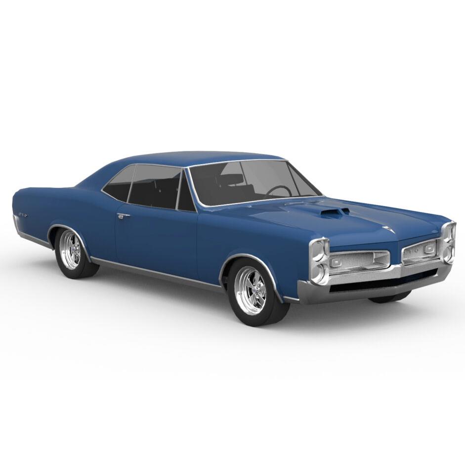 Pontiac 1966 GTO Rendercar