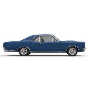 Rendercar Pontiac 1966 GTO