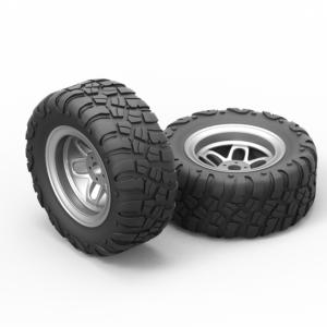 3D модель колеса скачать бесплатно