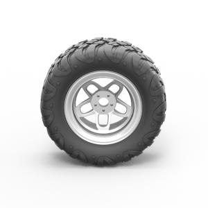 Скачать модель колеса 3D