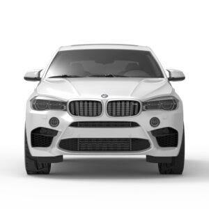 BMW x6 rendercar