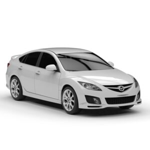 Rendercar Mazda 6 3D модель