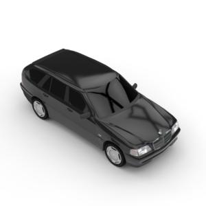 Mercedes-Benz C Class 3d