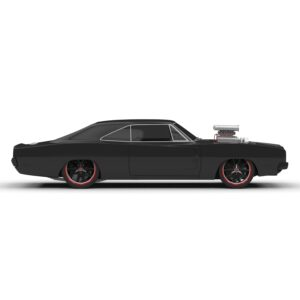 Rendercar dodge charger