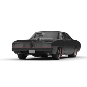 dodge charger rendercar