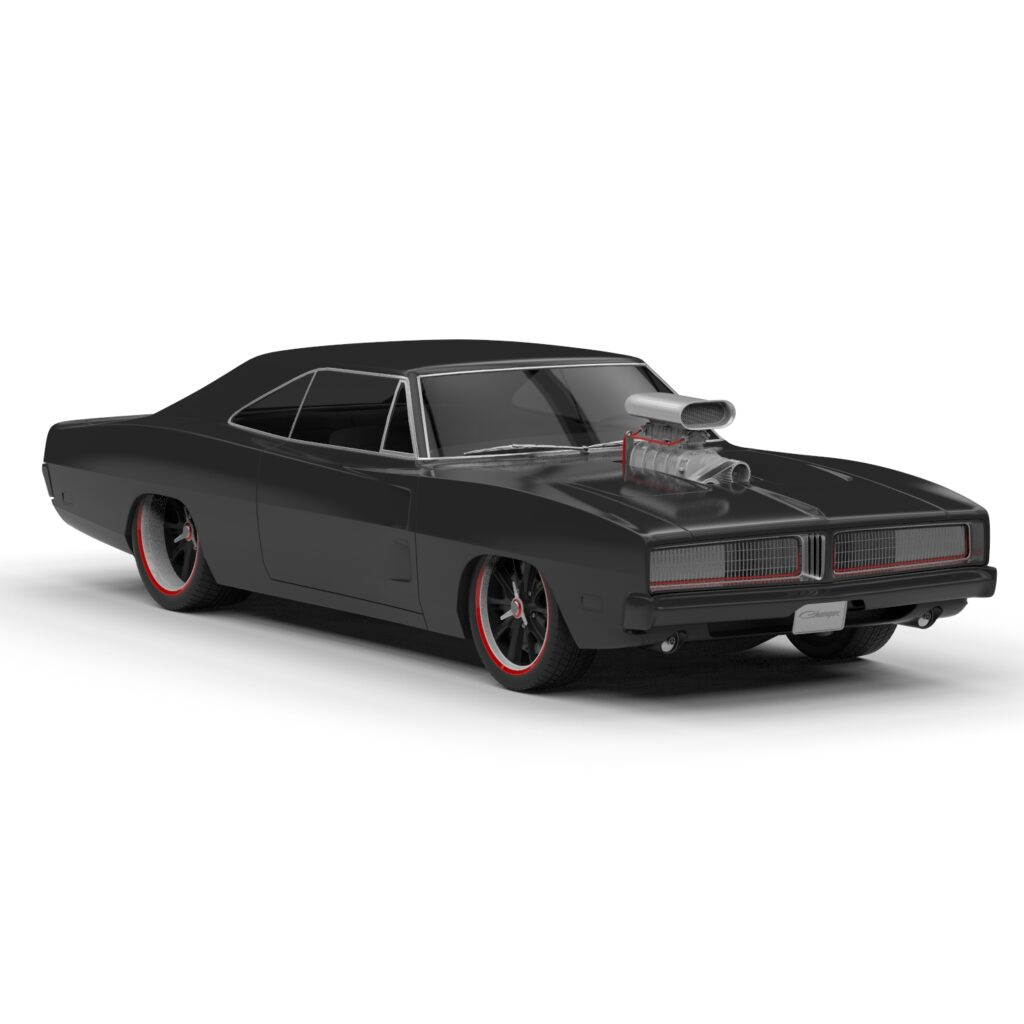 Dodge charger 3d model rendercar