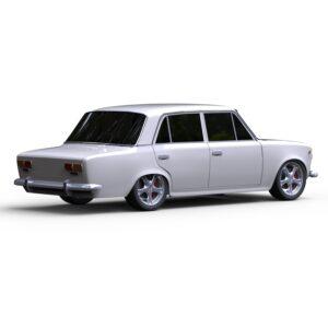 Rendercar Ваз 2101 (копейка) 3d