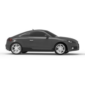 Audi TT 3d model free rendercar