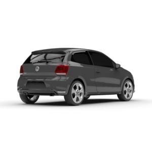 Rendercar Volkswagen Polo 3D