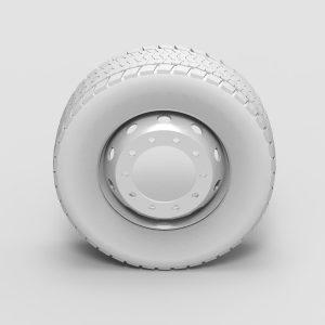 3d модель колеса внедорожника rendercar